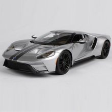 Maisto 1/18 2017 ford GT model car Diecasts&Vehicles ALLOY MODEL CAR four-wheel suspension High Simulation Toy Vehicles(China)