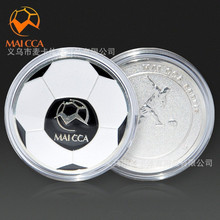 MAICCA High Quality Soccer Football Referee Judge Flipping Coin Metal with Case Professional for Match Game