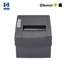 China android bluetooth thermal receipt printer 80mm pos terminal with cutter for restaurant equipment(China)