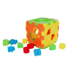Hot Sale 3D Puzzle Magic Cube Baby Toys Educational Puzzles Multifunction Toy for Children Shape Sorting Kids Christmas Gifts(China)