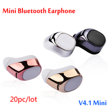 Buy 20pcs bluetooth earphone s630 V4.1 Stereo Bluetooth Headset Headphones Xiaomi Samsung iPhone 7 Earbud super bass earphone for $175.80 in AliExpress store