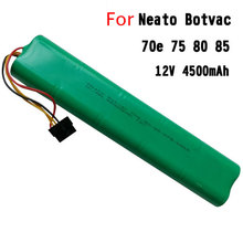 New 4500mAh 12V Ni-MH Replacement Battery for Neato BotVac 70e 75 80 85 D75 D85 Series Robotic Vacuum Cleaners