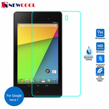 For 2013 Google Nexus 7 II 2nd Tempered Glass Screen protector For asus Memopad 7 ME572C ME572CL Protective Film screen guard