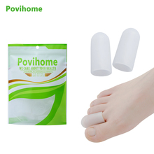 10Pcs Foot Corns Blisters Remover Gel Tube Bandage Finger & Toe Protectors Foot Pain Relief Guard for Feet Care C169(China)