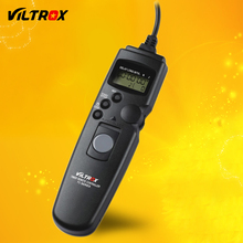 Viltrox Camera LCD Timer Remote Control Shutter Release Cable for Canon 7D Mark II 6D 5D 5DIV 5DIII 1D 50D 40D 30D 20D(China)