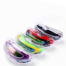 2017 New Children Swimming Goggles One-Piece Anti-fog with Hard Case Kids Snorkel Mask Diving Glasses for Boys D1118HY