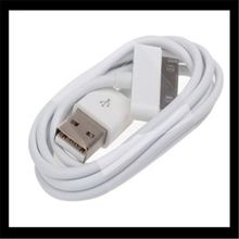 1m 30pin USB 2.0 Data Sync Charger Cable For Mobile Phone Charging Cord iPad iPhone 4 4S 4G iPod 3G 3GS