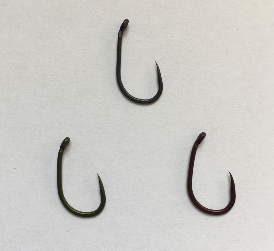 30 barbless carp fishing tackle hooks straight 6