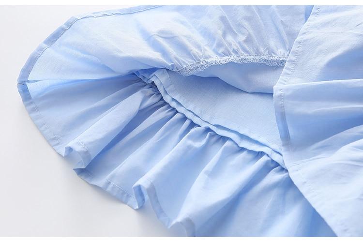2018 Hot Summer 2-10 Years Brief Kids Lace Embroidery Flower Floral Sleeveless Flounce Vest Tank Sundress Girls Dress Cotton (19)