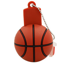 pendrive usb flash usb flash drive 64gb 32g16g 8g 4g flash drive Basketball Model pen drive Usb2.0 flash card free shipping(China)