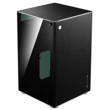 Jonsbo VR1 black Chassis aluminum double side glass through  ITX computer case