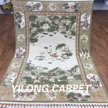Yilong Oriental Wool Carpet Traditional The beauty of Hangzhou Handmade Art Collection Carpet (CH002)(China)