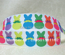 10 yards lot 7/8inch 22mm Easter Day design grosgrain ribbon for hairbows free shipping 621079()