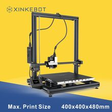 XINKEBOT 2016 Newest 3D Printer Adjustable Z End-stop Super Flat Print Bed with Free SD Card/USB Cable