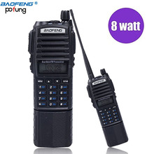 Baofeng UV-82 8W High Power 3800mAh Battery Walkie Talkie Dual Band Radio 136-174mhz&400-520mhz Amateur (Ham)Portable Radio