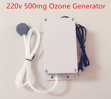 New Ozone Generator 220v 500mg Food Water Air Sterilizer Generator Ozone Water Purifier Ozone Machine