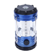 Factory Price Portable Lantern Outdoor Camping Adjustable 12 LEDs Light Hiking Camping Lantern Tent Lamp with Compas