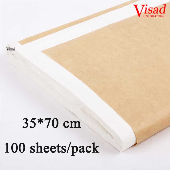 35*70cm White chinese rice paper painting supplies xuan paper for artist painting paper calligraphy drawing paper<br>