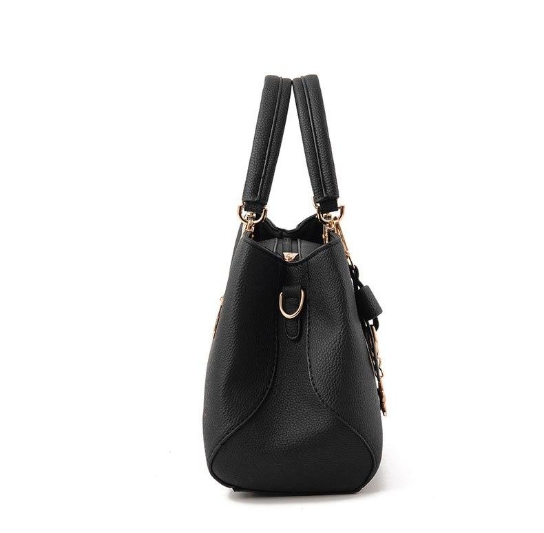 WENYUJH New 18 Elegant Shoulder Bag Women Designer Luxury Handbags Women Bags Plum Bow Sweet Messenger Crossbody Bag for Women 7