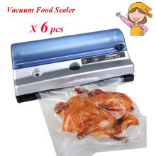 6pc/lot  tablet food vacuum sealer machine bag seal machine vacuum packing machine for food