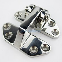 Marine Boat Stainless Steel Hatch Hinge w/ Removable Pin Solid Cast Hatch Hinge