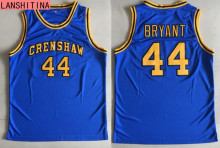 LANSHITINA Mens #44 BRYANT Basketball Jerseys Crenshaw High School Movie Love Retro Stitched Cheap Throwback Jerseys Shirt(China)