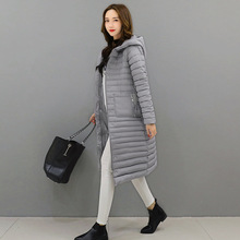 2017 Sell Like Hot Cakes Winter Women Jacket Wadded Jacket Thick Warm Hooded Long Cotton-padded Parka Slim Winter Coat(China)