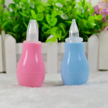 New Born Silicone Baby Safety Nose Cleaner Vacuum Suction Children Nasal Aspirator New Baby Care Diagnostic-tool Vacuum Sucker(China)
