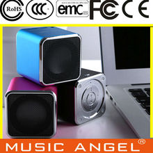 Original New Music Angel JH-MD07U Portable Mini Spearker with TF /  MicroSD Slot Support Download Music