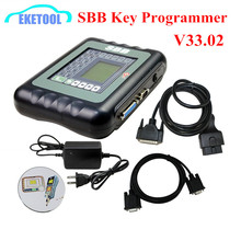 No Tokens Limited Silca SBB Key Programmer V33.02 Auto Programming New Keys OBDII Connect Immobilizer SBB V33 Best Quality(China)