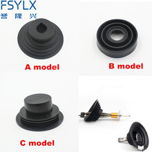 FSYLX HID LED headlight dust cover rubber waterproof sealing headlight cover car motorcycle accessories H1 H3 H7 H4 H11 9005/6