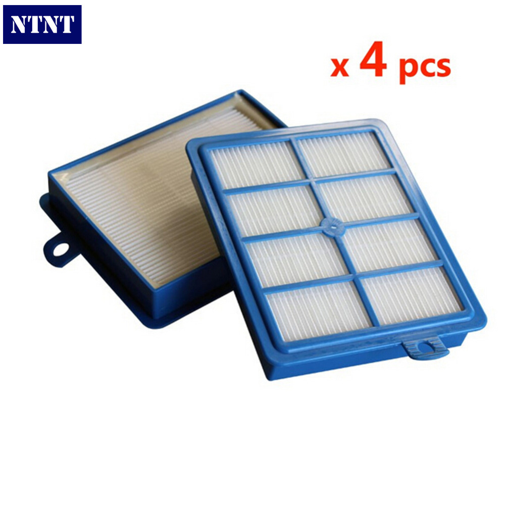 NTNT 4 Pcs for PHILIP FC8204 FC8060 FC9150-FC9199 FC9071 FC8038 STARTER KIT Proformer pro FILTER S-filter HEPA 12 HEPA 13 Blue<br><br>Aliexpress