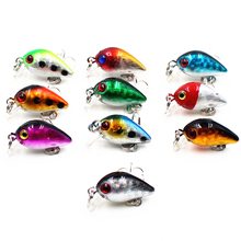 3cm 2g Mini Top Water Crank Hard Lure For Sea Carp Fly Fishing Spinner Bait Accessories Jig Hooks Tool Wobblers Fish Sport lures