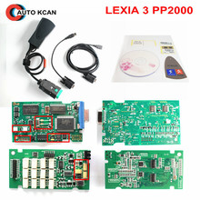 Hot Sell Diagbox V7.83 lexia 3 Serial 921815C Firmware !!! Lexia3 PP2000 For Ci-troen For Pe-ugeot Diagnostic Free shipping(China)