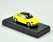 Special offer Schuco OEM 1:43 Original VW New Beetl yellow alloy car models Alloy car models car