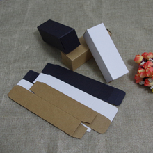 100pcs/lot 4x10.3/48x145/124cm 30/50/100ml Packing Paper Box DIY Lipstick Perfume Essential Oil Bottles valve tubes