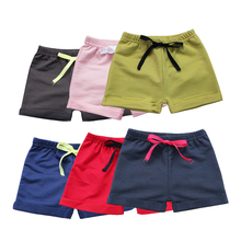 1 Pc New Children's Clothing Trousers Cotton Children's Shorts Candy Colored Boys and Girls Shorts Fashion Hot Pants TSK0104