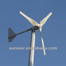1500w 48v high efficiency wind power generator made in china