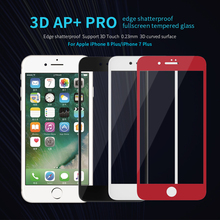 Buy Nillkin iPhone 8/8 Plus Tempered Glass Screen Protector 3D Fully Cover Anti-Explosion Screen Protector iPhone 8 glass for $10.99 in AliExpress store
