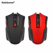 Kebidumei 2.4Ghz Mice Optical Mouse Office Use Rolling USB Mouse Wireless Gaming Mouse Plug and Play for PC Laptop Computer(China)