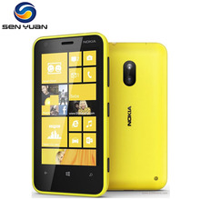 Original Nokia Lumia 620 Windows Cell Phone Dual-core 8GB ROM 5MP Camera 3G Wifi GPS Cellphone(China)