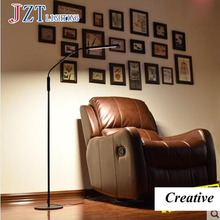 T Simple Blak Creative Floor Lamps For Study Work Reading Fashion Soft Modern Eye Protection For Bedroom Study Room Best Price(China)