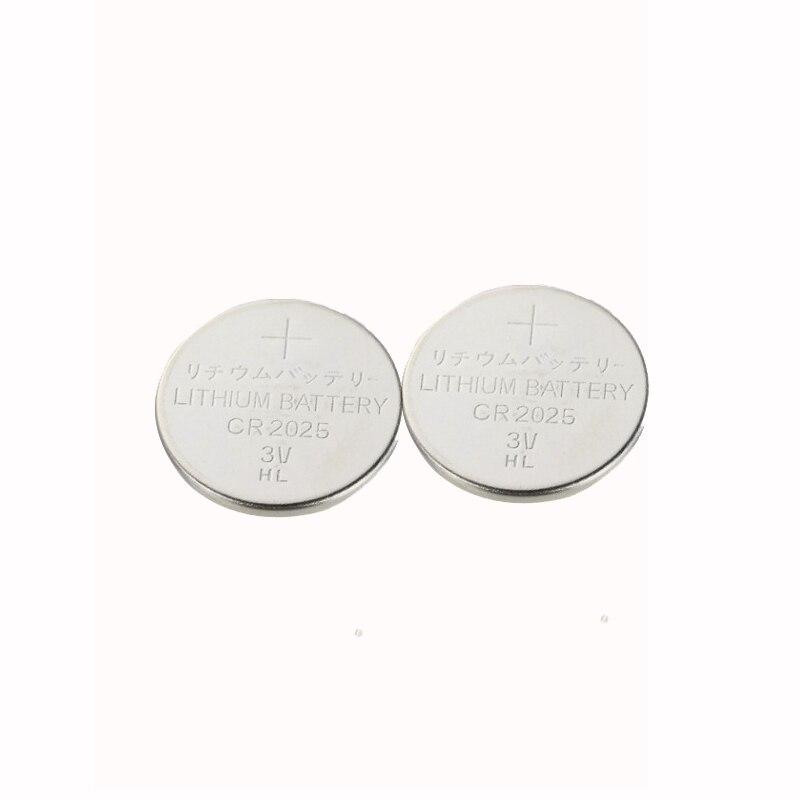 200x CR2025 Lithium Knopfzelle 3Volt CR 2025 PANASONIC