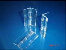 Acrylic Hinge , perspex Transparent Hinge , Plexiglass Hinge , organic glass hinge 30x34mm ,furniture accessory