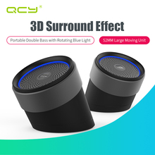 QCY QQ1000 Bluetooth Speakers 2nd Portable Wireless Speakers Hand-free Loudspeakers BT V4.2 with Mic for phone calls