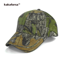 Kakaforsa Women Camouflage Cotton Baseball Caps Men Desert Camo Adjustable Snapback Hats Cobra Snakeskin Army Green Summer Cap(China)