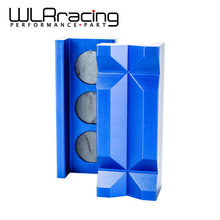 WLRING STORE- Aluminum Vise Jaw Protective Inserts for AN Fittings - With Magnetic Back WLR-SLV0304-01(China)