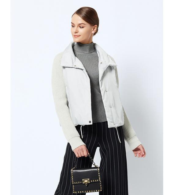 Short Women's Coat And thin cotton padded  jacket