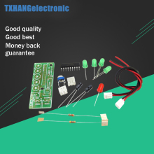 1PCS Elektronika KA2284 DIY Kits Audio Level Indicator Suite Trousse Electronic Parts 5mm RED Green LED Level Indicating 3.5-12V(China)