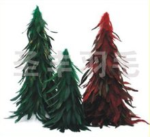Christmas Feather Tree Popular High Quality Home Decoration Shooting Props OEM ODM Gift(China)